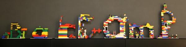 BarCamp Lego Logo