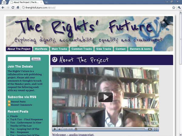 Reenie Beanie on The Rights Future