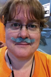 Me and my fake moustache