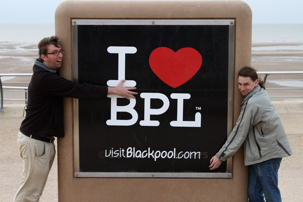 Leeky and Alistair give BPL some lovin'