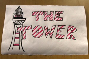 Room sign for The Tower