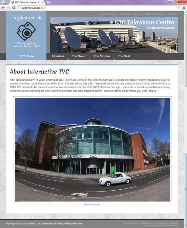 Interactive TVC