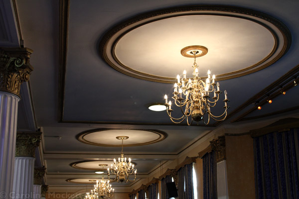 Fancy Ballroom Roof